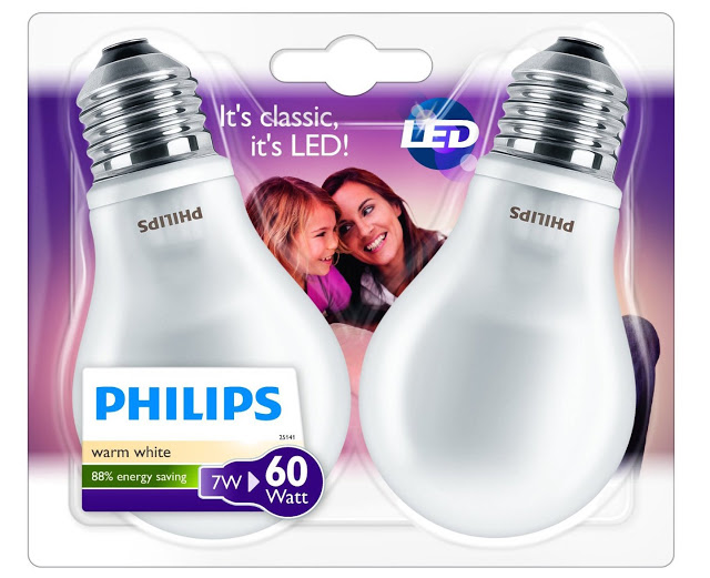 pack bomibllas philips led 7W