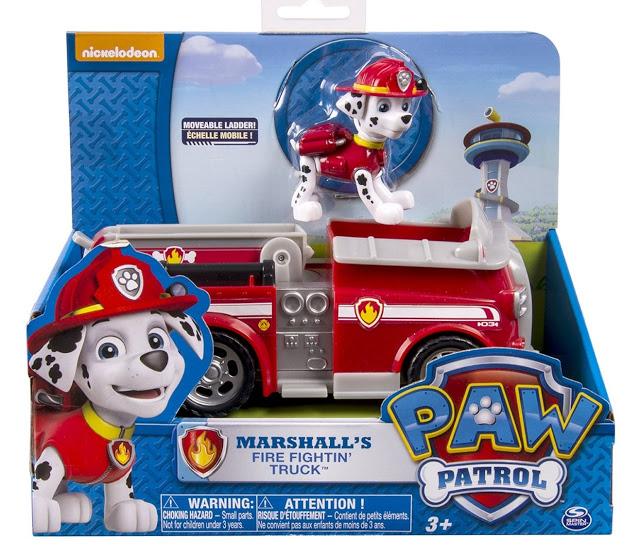 camion de bomberos patrulla canina mas marshall