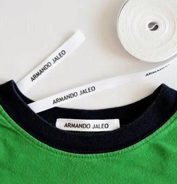 Etiquetas para Marcar la Ropa Personalizadas Planchar
