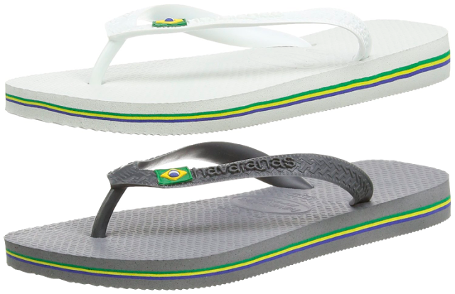 Chollo zapatillas de playa Havaianas Brasil baratas