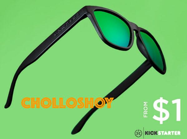 Promoción Gafas de Sol HAWKERS en KickStarter