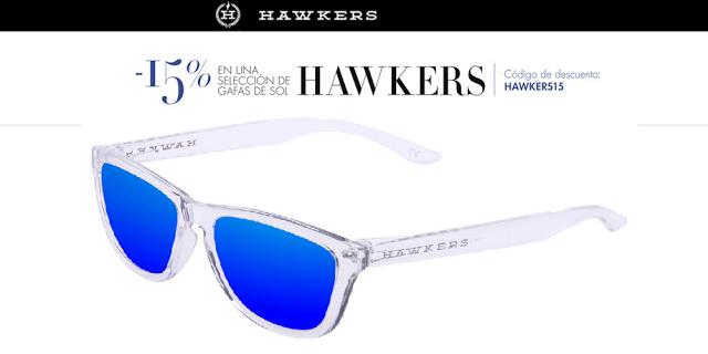 chollo gafas sol hawkers 15% descuento baratas