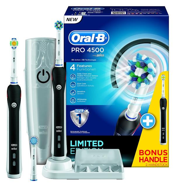 pack cepillo de dientes electrico oralb 4500 barato