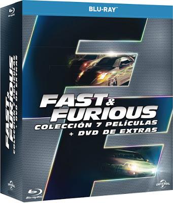 Pack Fast & Furious películas blu-ray
