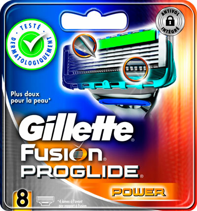 recambios Gillette Fusion Proglide Power con 8 unidades