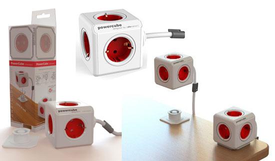 Multiplicador con Cable Allocacoc PowerCube Extended, oferta en regleta allocacoc powercube alargador, oferta en ladron powercube extended,
