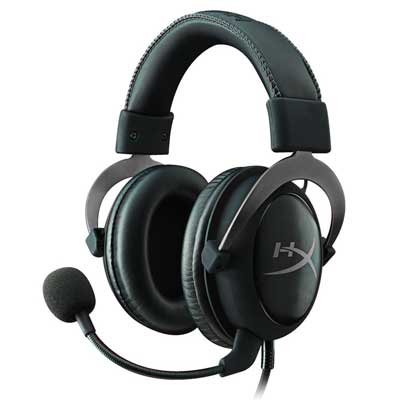 Auriculares Gaming Kingston HyperX Cloud II baratos, auriculares en oferta en amazon kignstom hyperx, gamers auriculares hyperx cloud ii,