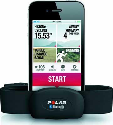 Pulsómetro Polar H7 compatible con iPhone y Android Bluetooth 4.0 barato, banda pectoral de pecho con bluetooth polar h7 barata, control pulsaciones smartphone,