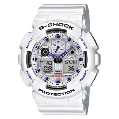 Reloj Casio G-Shock GA-100A-7AER barato, reloj casio en oferta,  Reloj Casio G-Shock GA-100A-7AER con descuento, relojes casio baratos,
