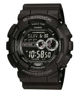 reloj CASIO G-Shock GD-100-1BER Full Black , reloj barato en amazon, reloj gshock de casio negro, reloj casio gshock barato 65 euros,