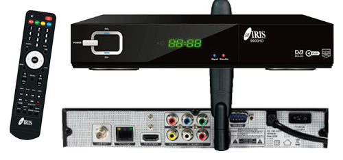 Receptor Iris 9900 hd barato, receptor satelite iris, iris 9900hd, receptor con wifi satelite iris 9900hd en oferta,