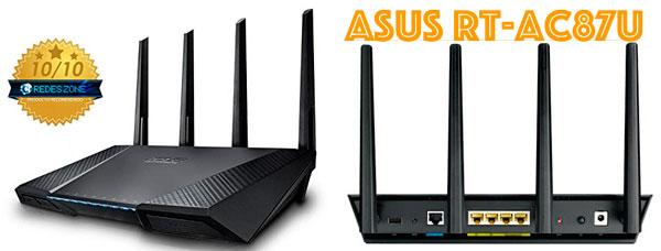 El mejor router del mercado Asus RT-AC87U en oferta, router barato en amazon, oferta en router asus rt-ac68u, chollo moden asus rt-ace87u,