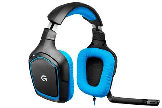 auriculares logitech g430 baratos descuento rebajas electronica oferta flash