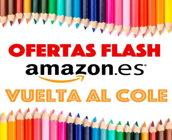 Ofertas Flash en Septiembre con la vuelta al cole en Amazon