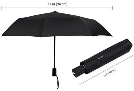 Paraguas de Viaje Plegable Automático Plemo barato, paraguas plegable barato, plemo paraguas en oferta en amazon,