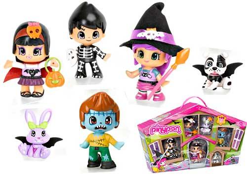 Pack Pinypon 4 Figuras y 2 Pets Pinymonster barato, jueguetes pinypon en amazon, juguete peques en oferta pinymonster,