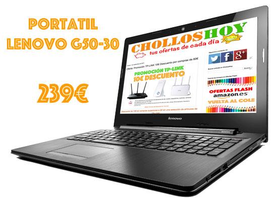 Ordenador Portátil Lenovo G50-30 barato