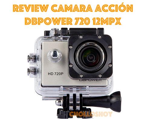 Review Camara de acción DBPower 12MP 720p con Accesorios barata