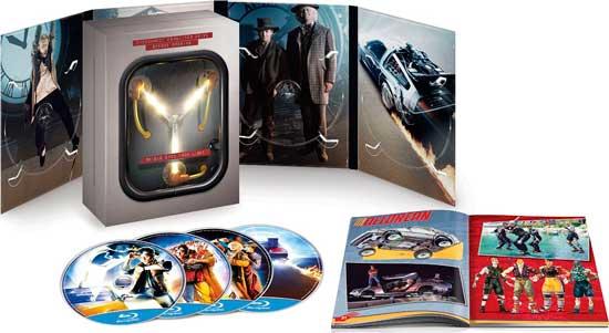 Trilogía Blu-Ray Regreso al Futuro Edición 30 Aniversario barata