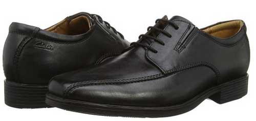 Zapatos de piel Clarks Tilden baratos 50 euros