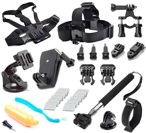 Kit 30 Accesorios para GoPro Soft Digits barato 11,99 euros