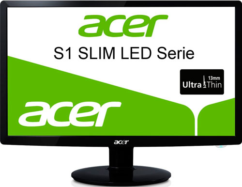 Monitor LED Acer S241HLB, oferta en monitor acer, descuento en monitor acer, chollo en monitor amazon, acer en oferta con calidad,