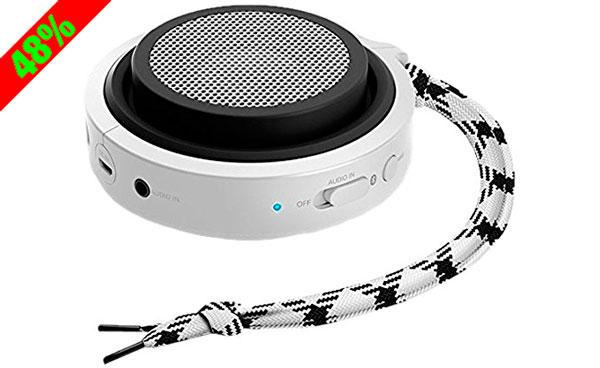 Chollo! Altavoz Bluetooth portátil Philips BT2000B/00 barato 20 euros. 48% Descuento