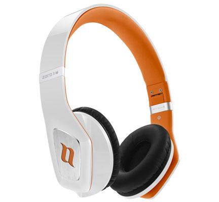 Auriculares plegables Noontec MF3122 Zoro HD baratos, auriculares de diacema cerrados color negro y naranja en oferta con descuento en amazon,
