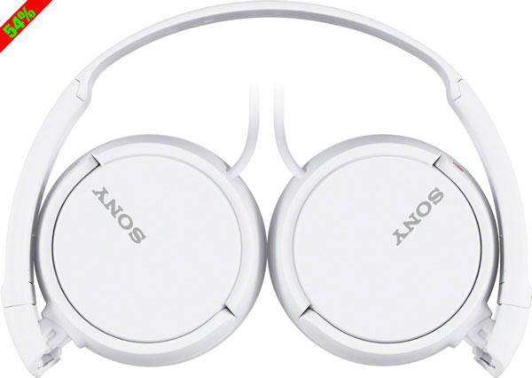 Chollo! Auriculares Sony MDR-ZX110 baratos 9 euros. 54% Descuento