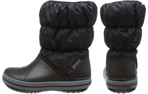Botas de nieve para niños Crocs Winter Puff kids baratas, botas baratas para peques en la nieve y agua de la marca crocs en oferta,