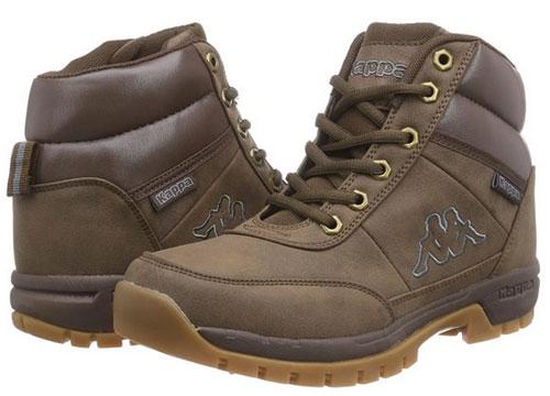 Botas Kappa Bright Mid Brown barata, botas baratas en amazon con descuento en botas kappa,
