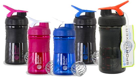 Botella de gimnasio Blender Bottle Sportmixer 590ml barata 7 euros. 39% Descuento