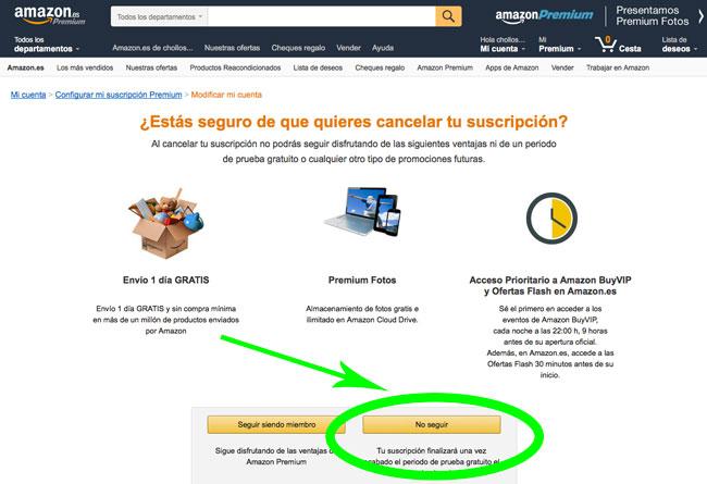 Como Cancelar Mi Cuenta De Amazon Prime