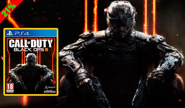 Reserva ya! Juego PS4 Call of Duty Black Ops III barato 56 euros. 21% Descuento
