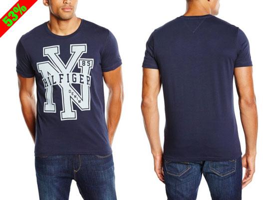 Chollo! Camiseta manga corta Tommy Hilfiger Denim barata 14 euros. 53% Descuento