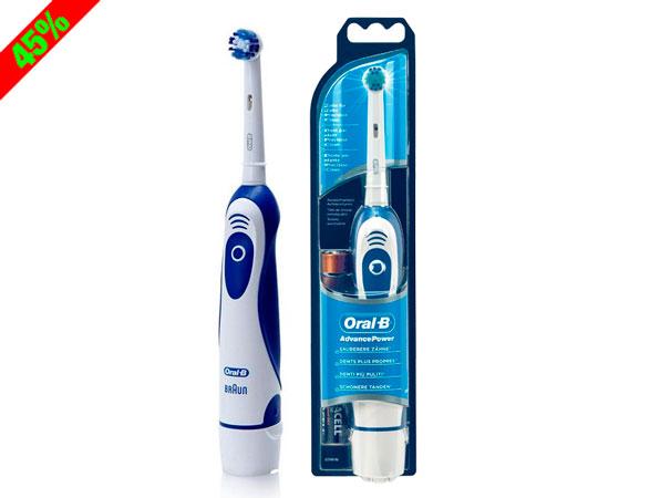 Chollo! Cepillo de dientes a pilas Oral-B Advanced Power barato 10 euros. 45% Descuento