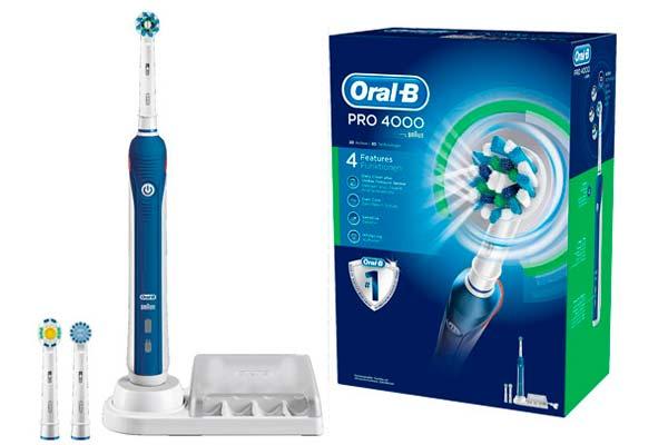 cepillo de dientes electrico oral-b pro 4000 barato descuento salud