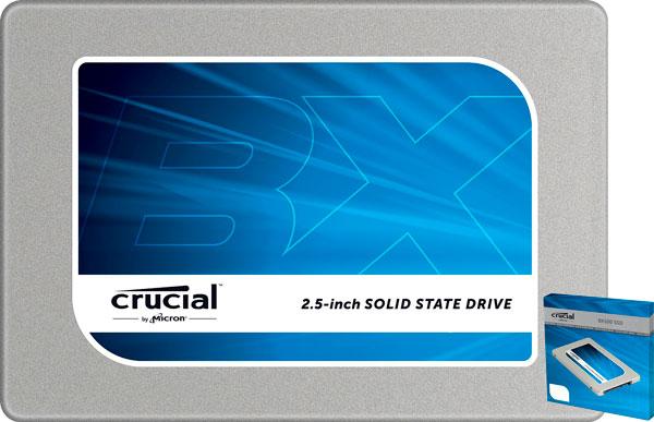 Oferta en Disco Duro SSD 500GB Crucial BX100 barato