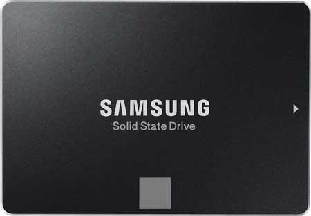 Disco Duro SSD 250GB veloz Samsung 850 EVO barato 79,95 euros