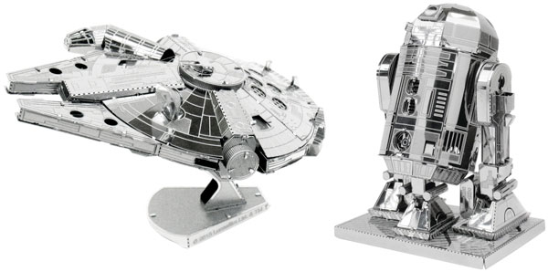 Maquetas de metal Fascinations de personajes Star Wars baratas