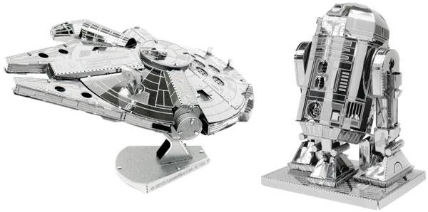 Maquetas de metal Fascinations de personajes Star Wars baratas