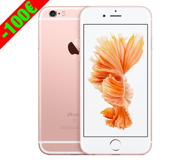 Oferta en el Nuevo iPhone 6S con descuento de 100 euros más barato