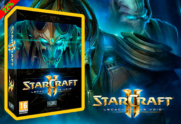 Reserva YA! Starcraft 2: Legacy of the Void barato