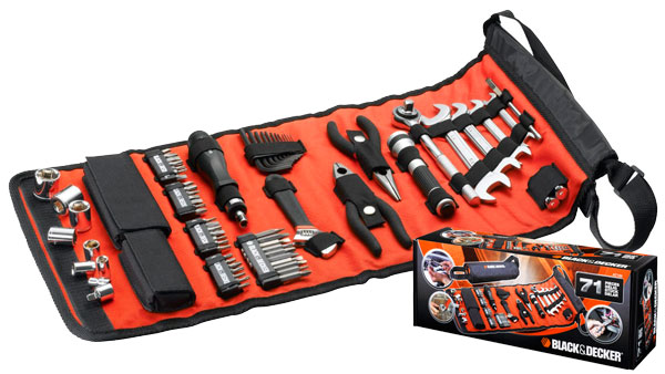 Kit herramientas para automóviles Black&Decker a7144 barato 24 euros