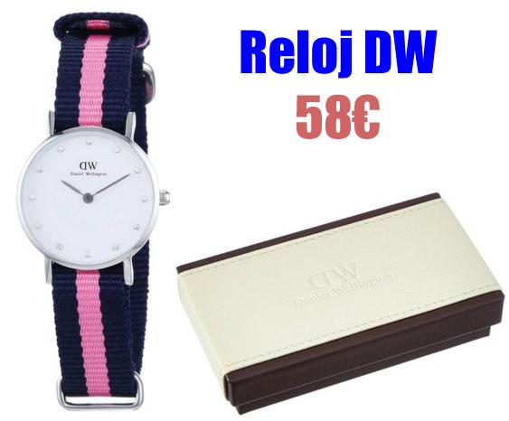Reloj elegante mujer Daniel Wellington 0926DW barato
