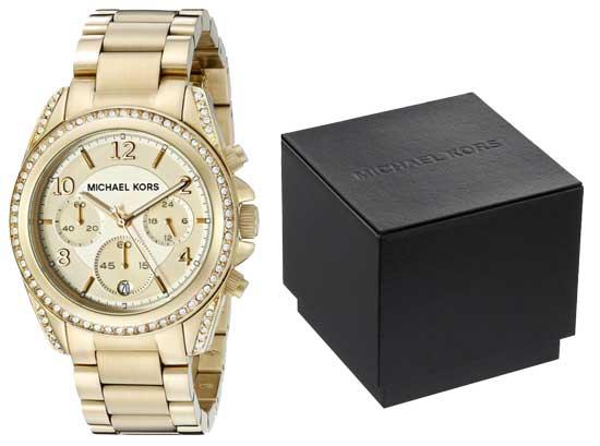 Reloj dorado Michael Kors MK5166 barato, reloj barato en amazon michael kors mk5166
