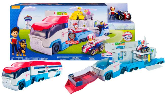 Chollo! Camión Patrulla Canina Truck Pat Paw Patroller