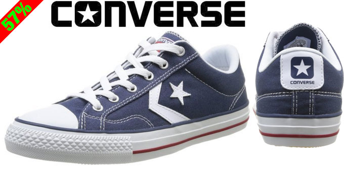 Chollo! Zapatillas Converse Star Player baratas desde 27,96 euros. 57% Descuento