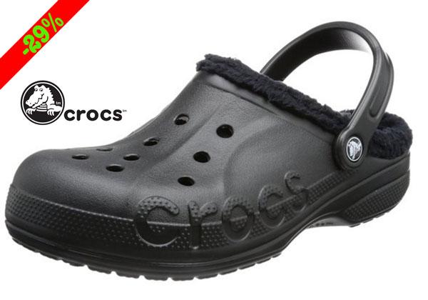 Chollo! Zuecos Crocs Baya para invierno baratos 28 euros. 29% Descuento