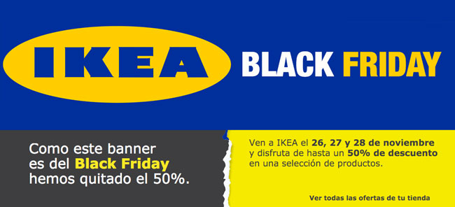ofertas del black friday en ikea del 26 al 28 de noviembre. Black Bedroom Furniture Sets. Home Design Ideas